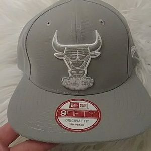 9FIFTY Grey Chicago Bulls Snapback